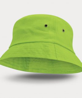Bondi Premium Bucket HatBright Green