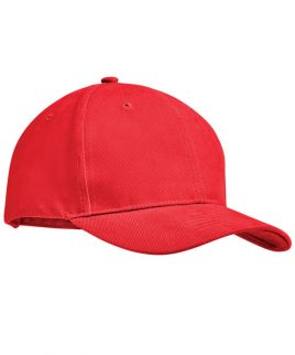 Red base ball brush cotton cap