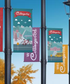 street banner