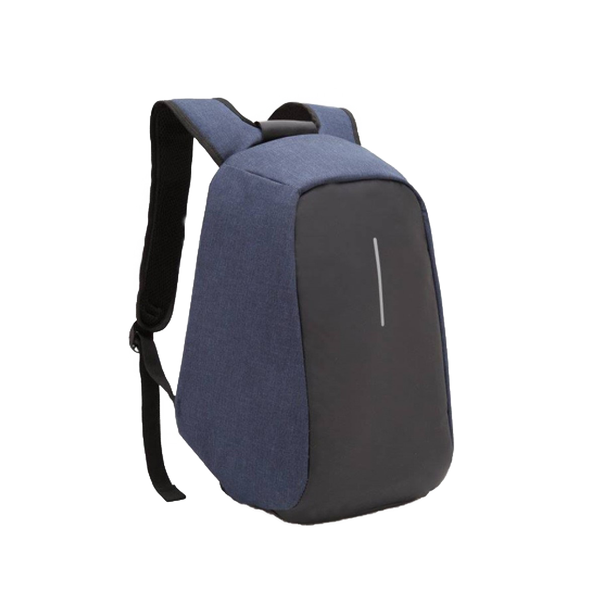 Anti Theft Back Pack Blue 1