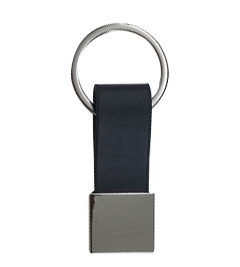 Metal Keychains with a blue slip 3