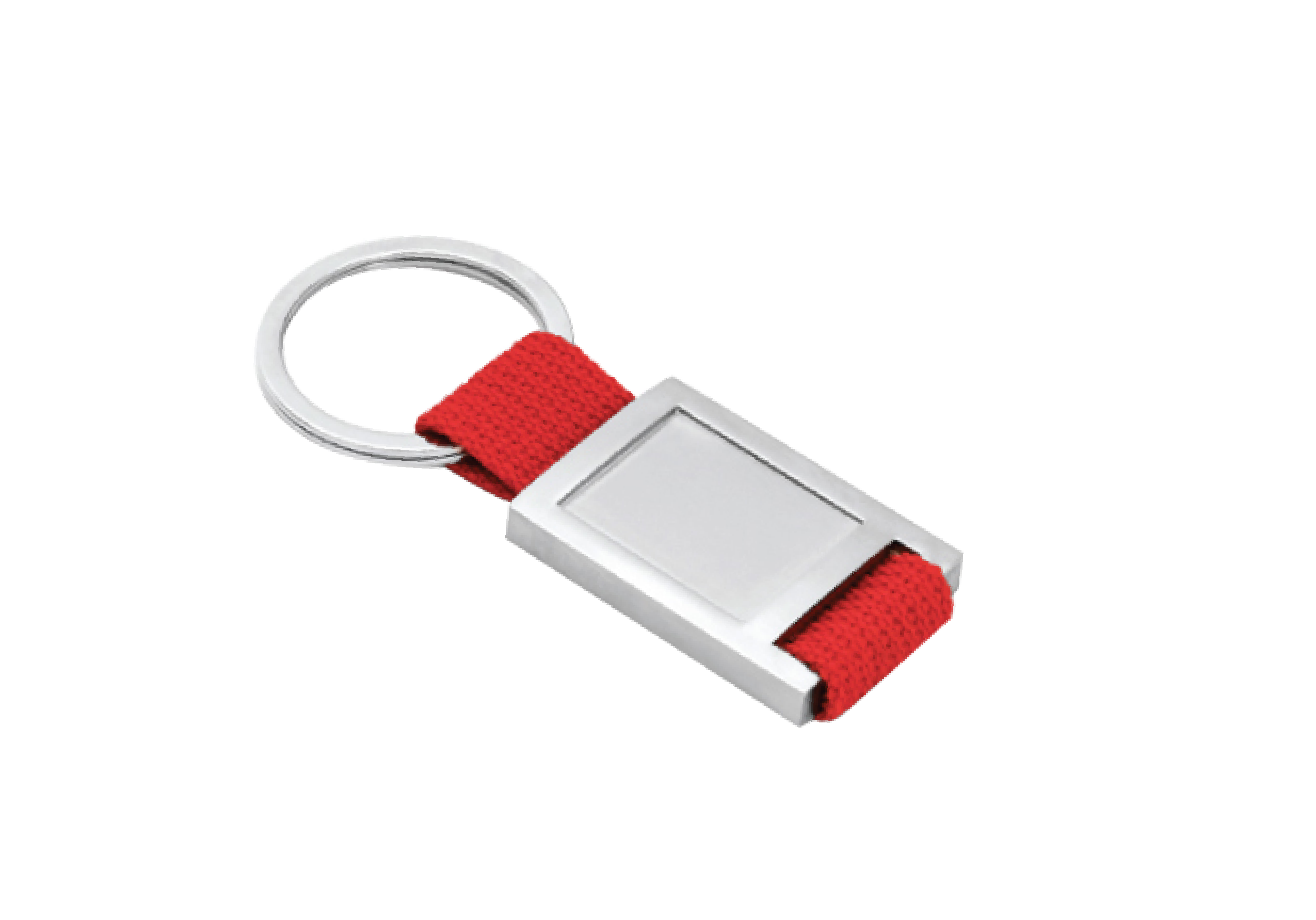 metal keychain red 01