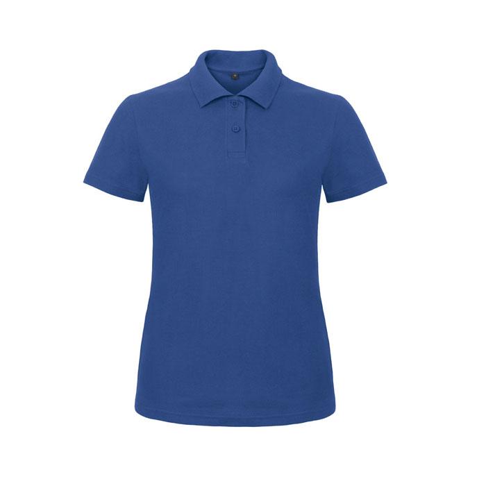 Blue ladies polo shirt