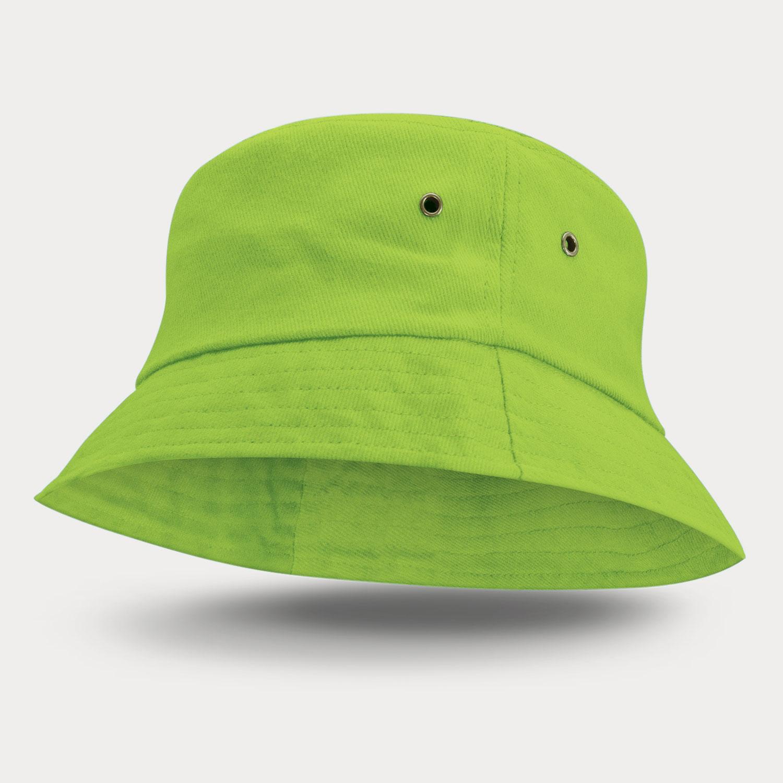 Bondi Premium Bucket HatBright Green