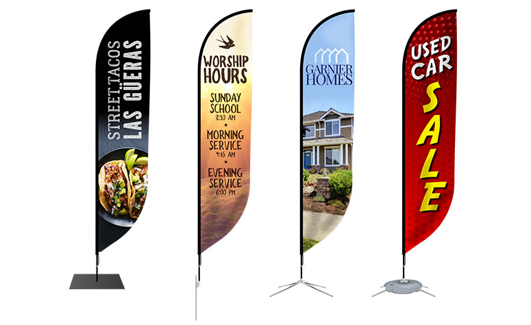 Feather flags SQS 10024