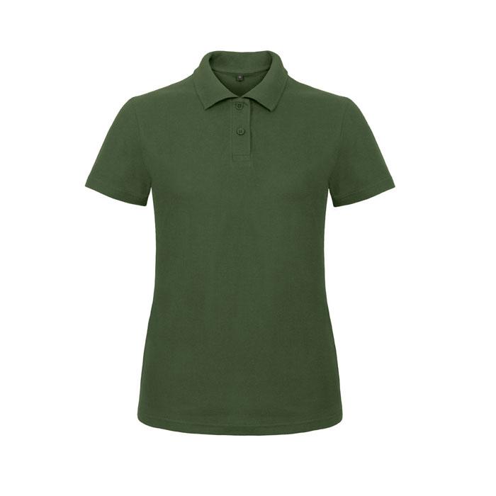 Green ladies polo shirt