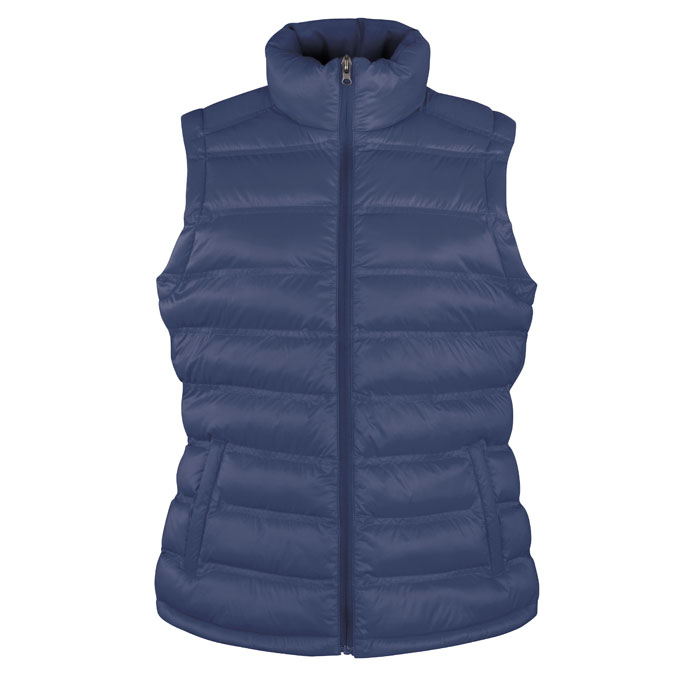 Navy blue body warmer