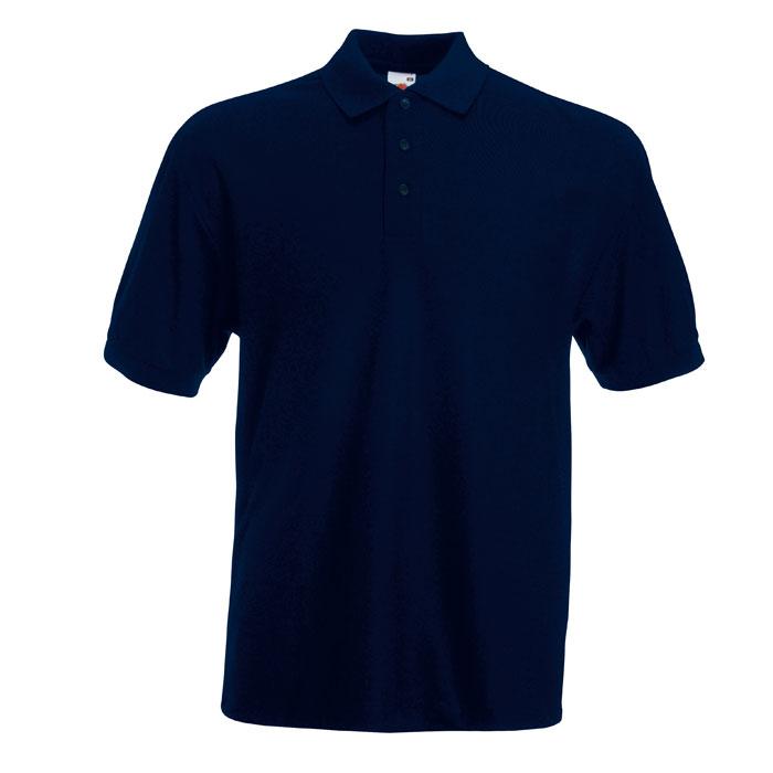 Navy blue polo shirt 1