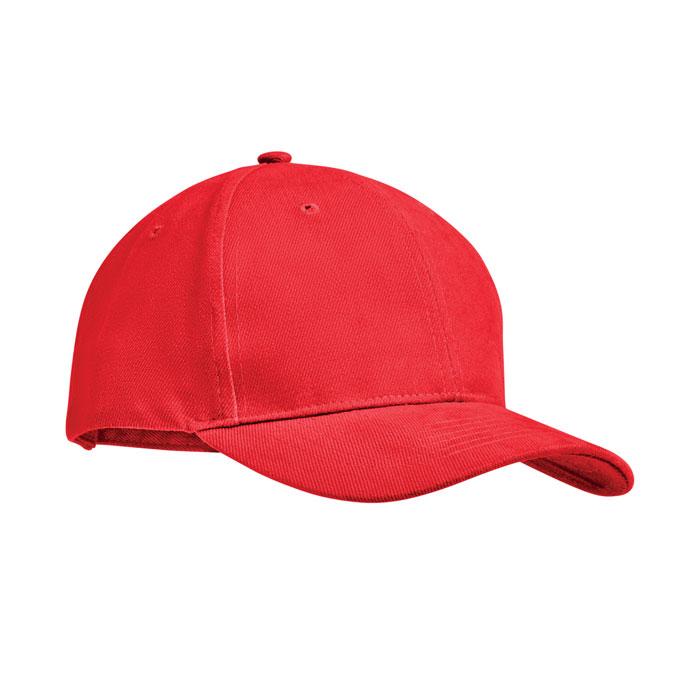 Red base ball brush cotton cap