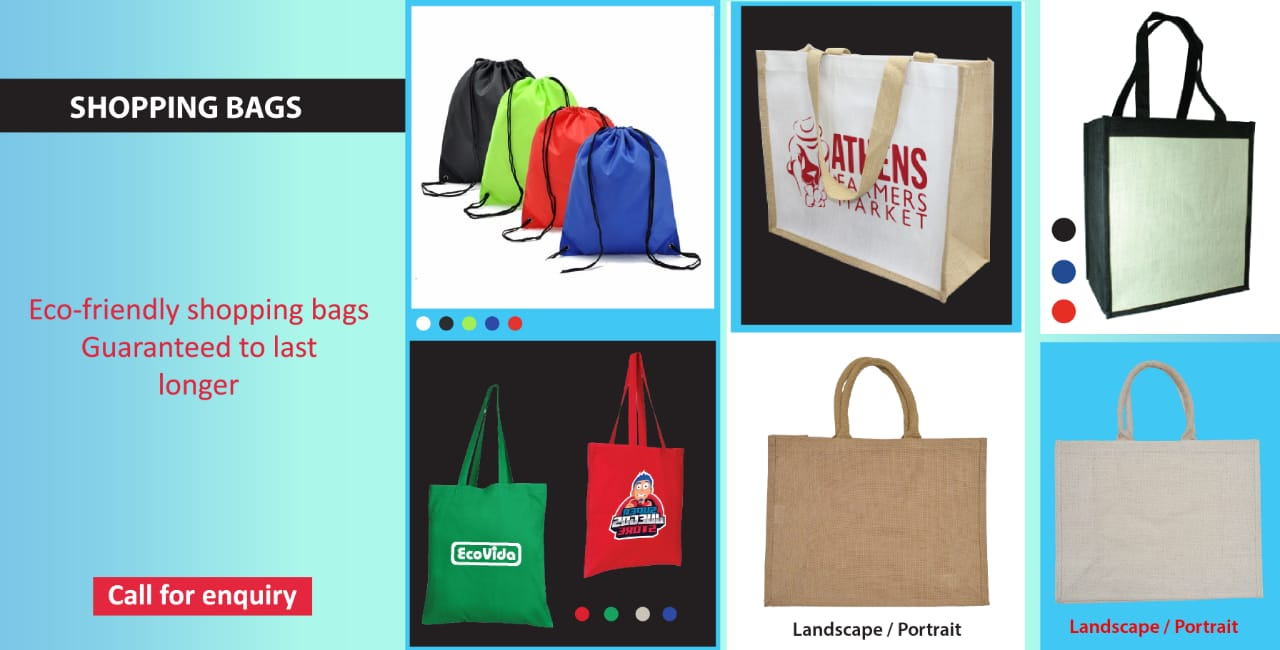 Shopping bag banner 1