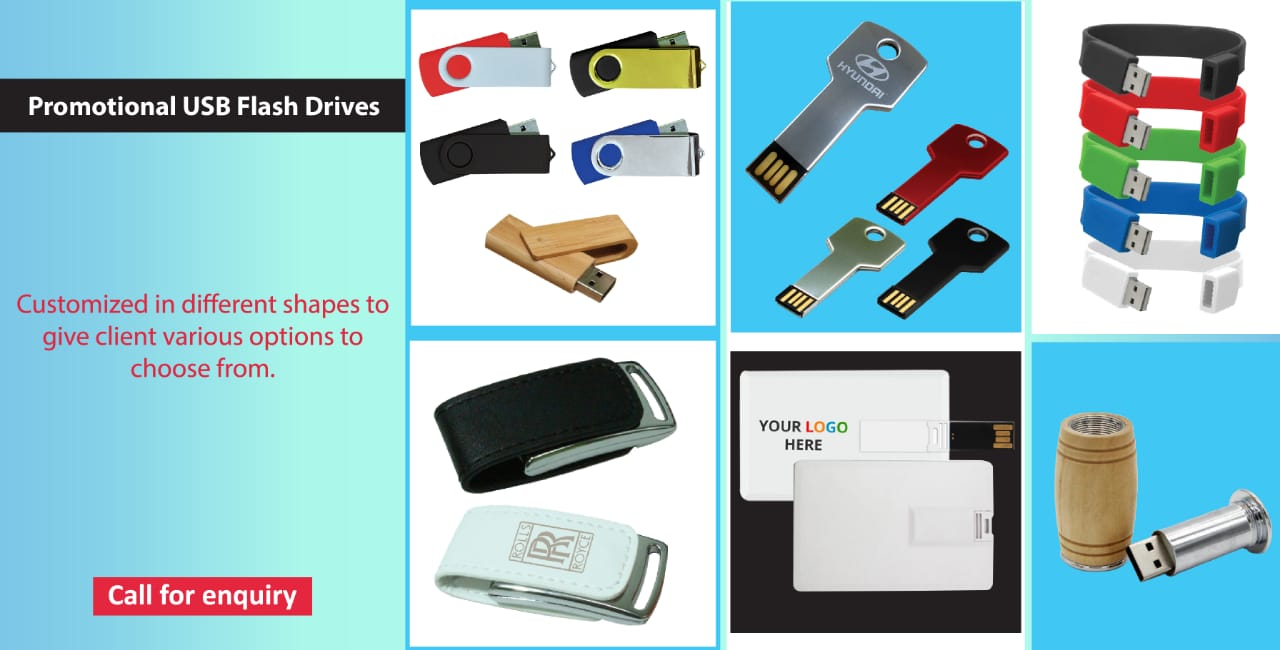 USB drives banner