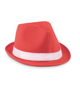 colored polyester hat