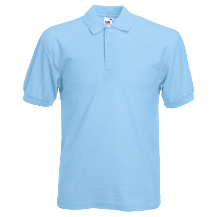 cyan polo shirt