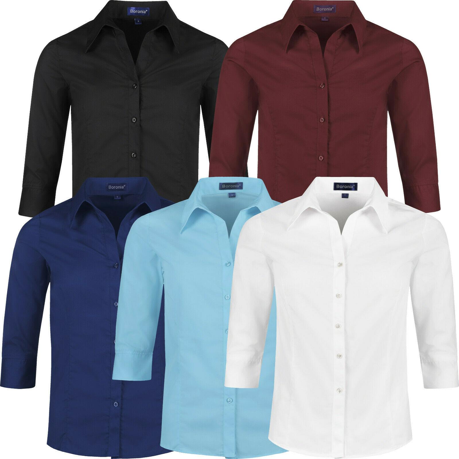 ladies long sleeve blouse 2