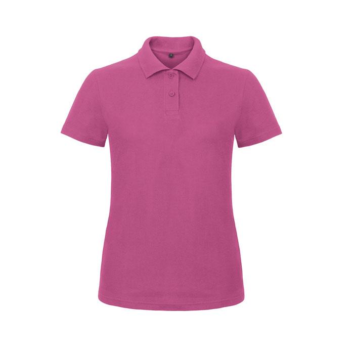 ladies pink polo shirt