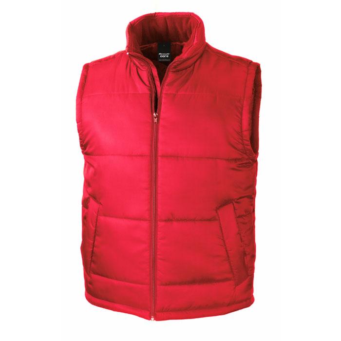 red body warmer