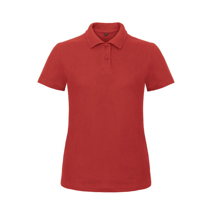 red ladies polo