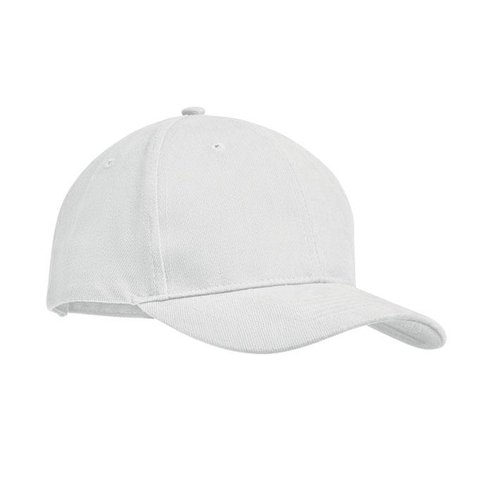 white brush cotton cap 1