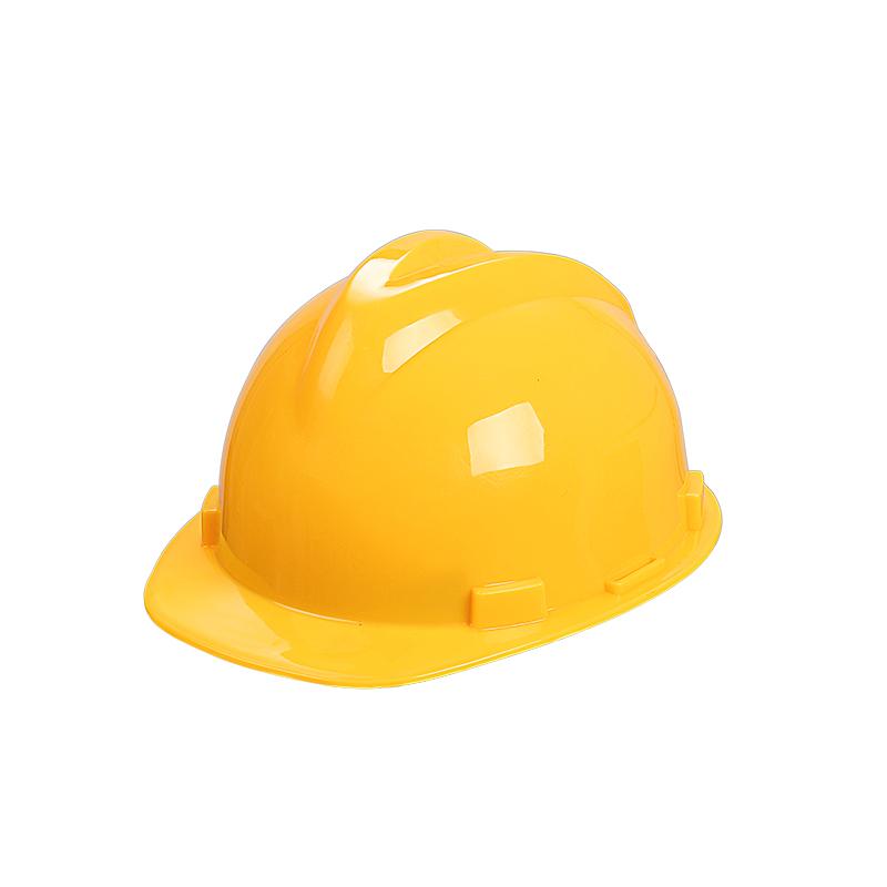 yellow con helmet